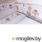 Комплект в кроватку Баю-Бай Раздолье К60-Р2 (бежевый)