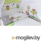 Комплект в кроватку Баю-Бай Раздолье К40-Р3 зеленый