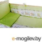 Комплект в кроватку Баю-Бай Мечта К40-М3 (зеленый)