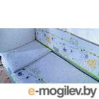 Комплект в кроватку Баю-Бай Дружба К50-Д3 зеленый