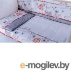 Комплект в кроватку Баю-Бай Дружба К50-Д1 красный