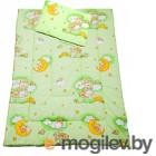 Комплект в кроватку Баю-Бай Нежность К20-Н3 (зеленый)