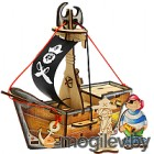 Сборная игрушка Woody Набор Пиратский корабль Карамба 00761