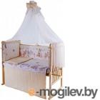Комплект в кроватку Баю-Бай Забава К80-З2 (бежевый)
