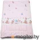 Одеяло для новорожденного Баю-Бай Забава ОД01-З1 розовый