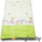 Одеяло для новорожденного Баю-Бай Забава ОД01-З3 зеленый