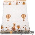 Одеяло для новорожденного Баю-Бай Раздолье ОД01-Р2 бежевый
