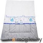 Одеяло для новорожденного Баю-Бай Дружба ОД01-Д4 синий