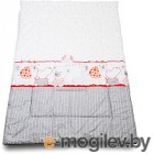 Одеяло для новорожденного Баю-Бай Дружба ОД01-Д1 красный