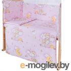 Простыня Баю-Бай Нежность ПР10-Н1 розовый