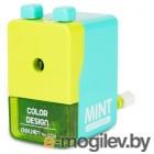 Точилка для карандашей механическая Deli E0739 1 отверстие 8мм пластик ассорти