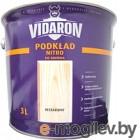 Грунтовка Vidaron Нитро для древесины 3л, бесцветная
