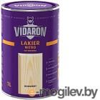 Vidaron Нитро для древесины 1л, бесцветный глянец