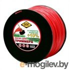 Леска для триммера DDE Speed Line 2.4mm x 346m Red 644-948