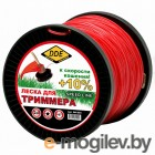 Леска для триммера DDE Speed Line 2.0mm x 167m Red 644-894
