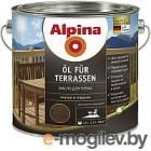 Alpina Oel fuer Terrassen Темный 2,5 л