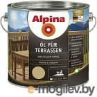 Alpina Oel fuer Terrassen прозрачный 2,5 л