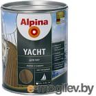 Лак яхтный Alpina Yacht 0.75л, глянцевый