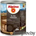 Alpina Oel fuer Terrassen Темный 0,75 л