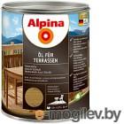 Alpina Oel fuer Terrassen Средний 0,75 л