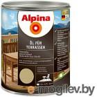 Alpina Oel fuer Terrassen Прозрачный 0,75 л