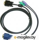 Переключатель D-Link DKVM-IPCB/10 Упаковка 10 кабелей KVM для устройств DKVM-IP1/IP8, длина 1.8м