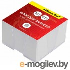 Блок для записей бумажный Silwerhof 701011 90х90х45мм белый в подставке
