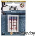 Набор игл для джинсы Organ 5/90-100