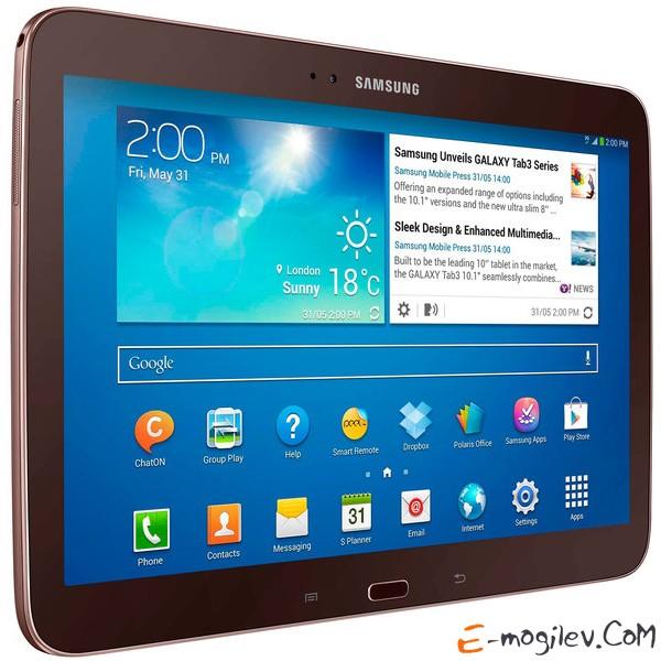 "Samsung GT-P5200 Galaxy Tab III 10"" 16Gb, WiFi + 3G, Gold Brown (GT-P5200GNAMGF)"