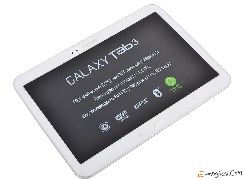 "Samsung GT-P5210 Galaxy Tab III 10"" 16Gb, WiFi, White GT-P5210ZWASER"