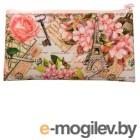 Пенал-косметичка Silwerhof 850925 Парижская весна 190х105мм текстиль