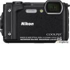 Компактный фотоаппарат Nikon Coolpix W300 (черный)