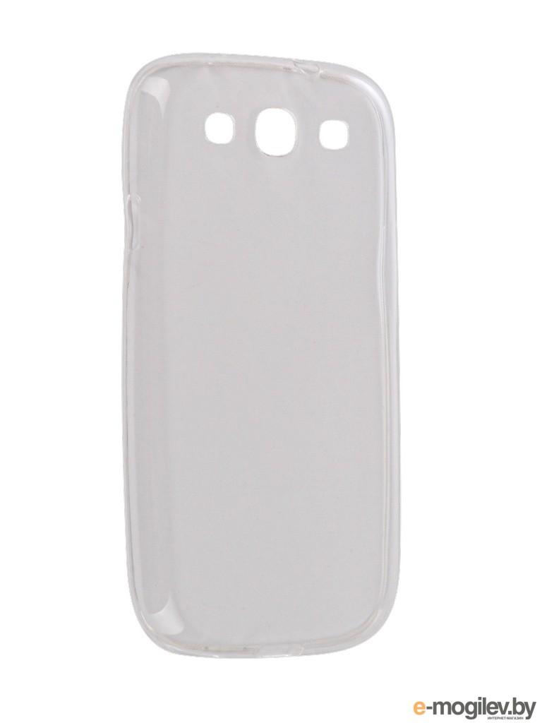 Чехол Samsung i9300 Galaxy S3 Snoogy Creative Silicone 0.3mm White