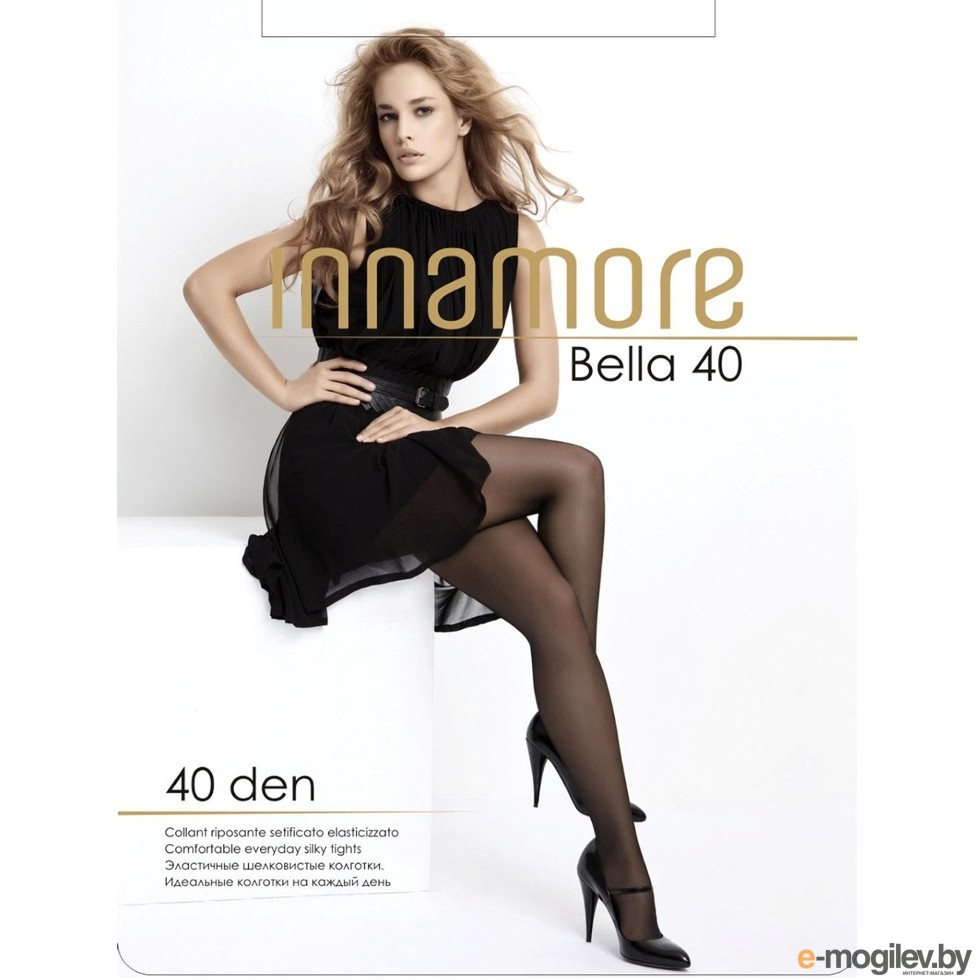 Колготки Innamore Bella размер 5 плотность 40 Den Nero