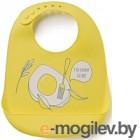 Happy Baby Bib Pocket 16006 желтый