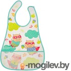 Happy Baby Waterproof Baby Bib 16005 поросята