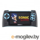 SEGA Genesis Gopher 2 LCD 4.3 Blue  500 игр