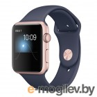 APPLE Watch Series 2 42mm Pink Gold with Dark Blue Band MNPL2RU/A