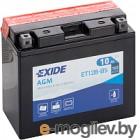 Exide ET12B-BS 10 А/ч
