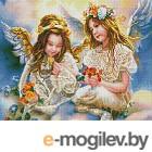 Набор алмазной вышивки Picasso Два ангела (PD4050061)
