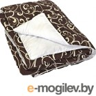 Одеяло Angellini 7с017шл 172x205, бежевый/белый
