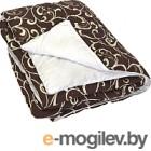 Одеяло Angellini 7с015шл 150x205, бежевый/белый
