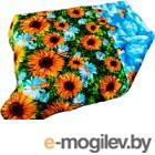 Одеяло Angellini 3с714о 140x205, подсолнухи