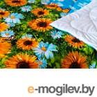 Одеяло Angellini 7с015дл 150x205, подсолнухи