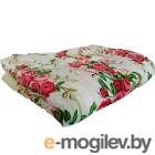 Одеяло Angellini 2с317о 172x205, желтый/розы