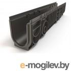 Лоток MEDIUM 100.175 h195 пластиковый, РБ (Дополнительный элемент: Решетка MEDIUM) (ecoteck)