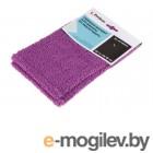 Сменная насадка для швабры из микрофибры, фиолетовая, PERFECTO LINEA