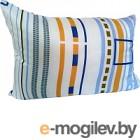 Подушка Angellini 5с3606п 50x70 (белый/голубые полоски)