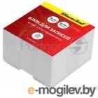 Блок для записей бумажный Silwerhof 701011 90х90х45мм белый эконом в подставке