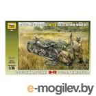 Zvezda Советский мотоцикл М-72 минометом 3651